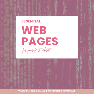 Essential pages for your website