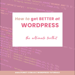 How to get better at Wordpress
