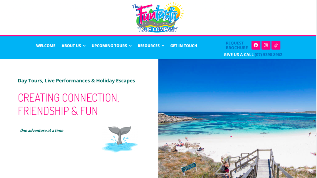 The Funtastic Tour Company Website