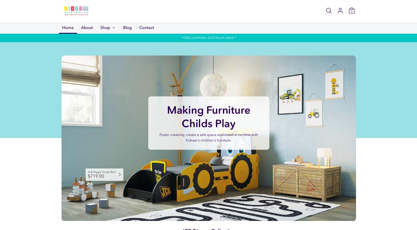 Kidsaw Website 3