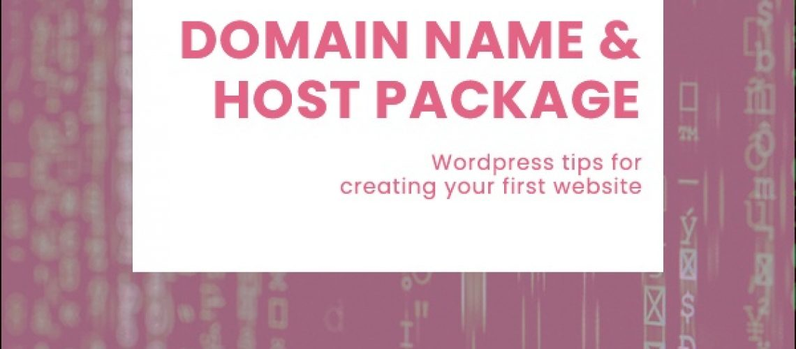 domain name and host package